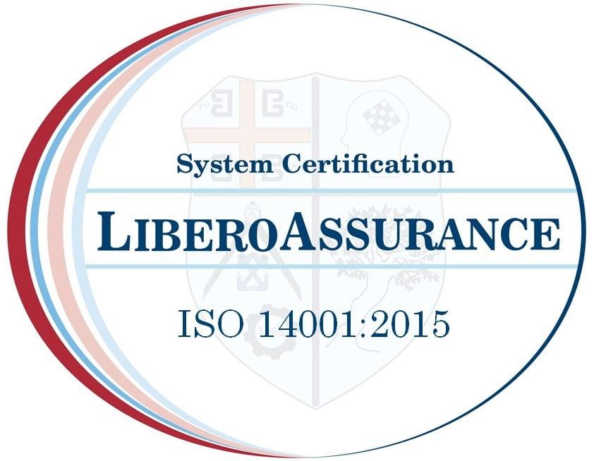ISO 14001 2015 LIBERO ASSURANCE MARK