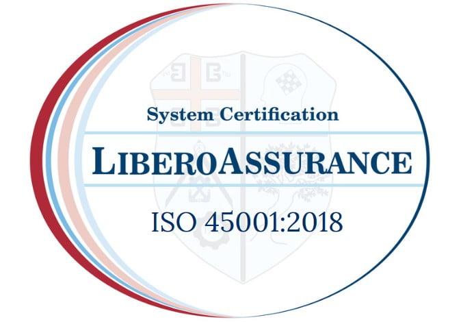 ISO 45001 2018 LIBERO ASSURANCEMARK
